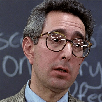 Front-face profile of Ben Stein.