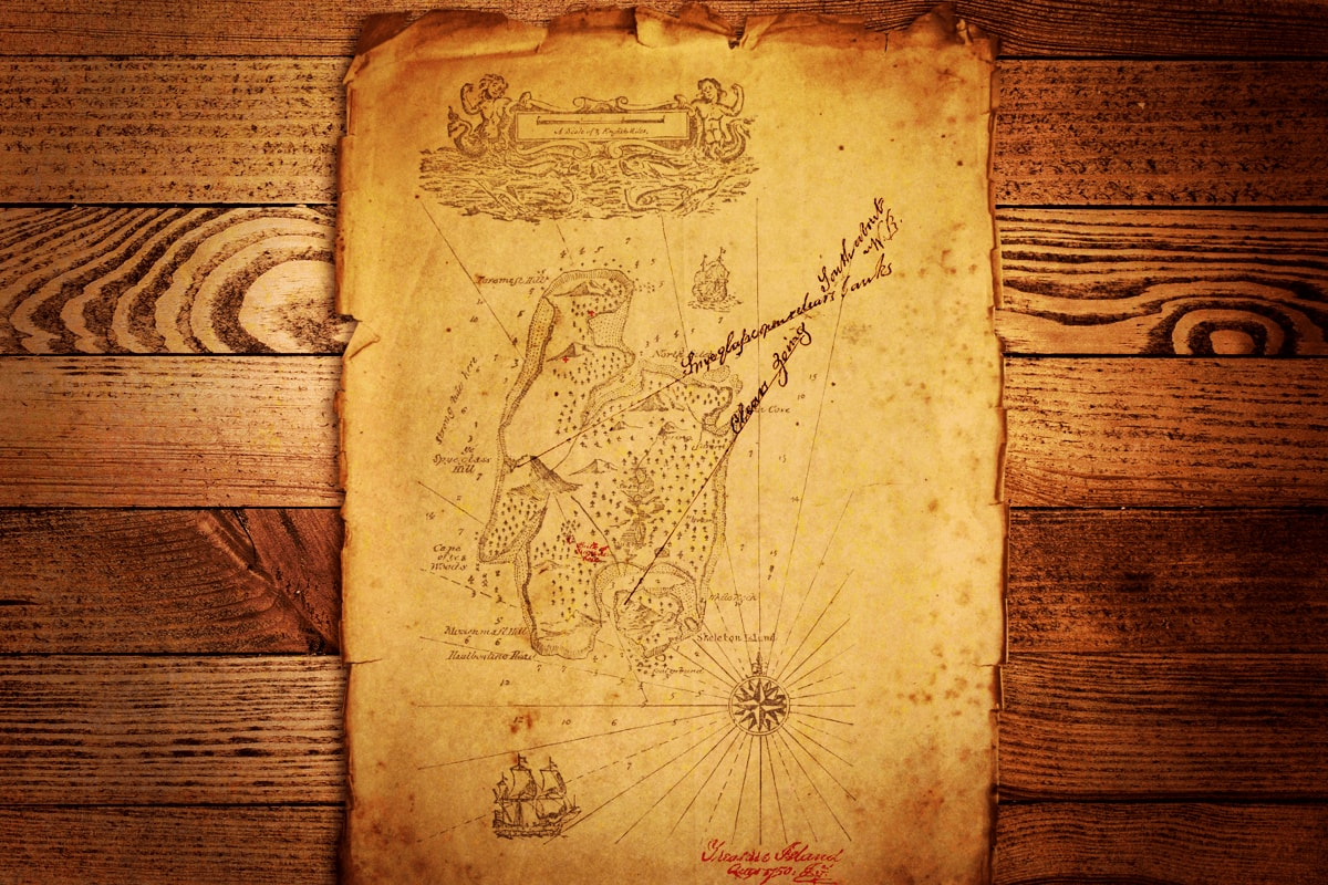 Like a treasure map, make X mark the spot in your advertisements