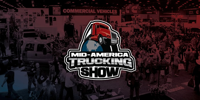Mid-America Truck Show logo.